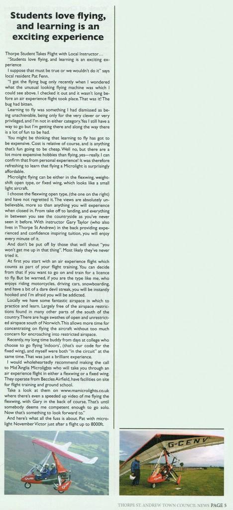 thorpe news article